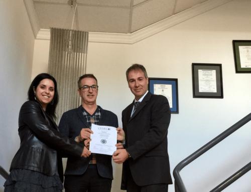 Turelectric S.L. recibe el certificado de cumplimiento de la Norma CEDEC de Calidad Empresarial.